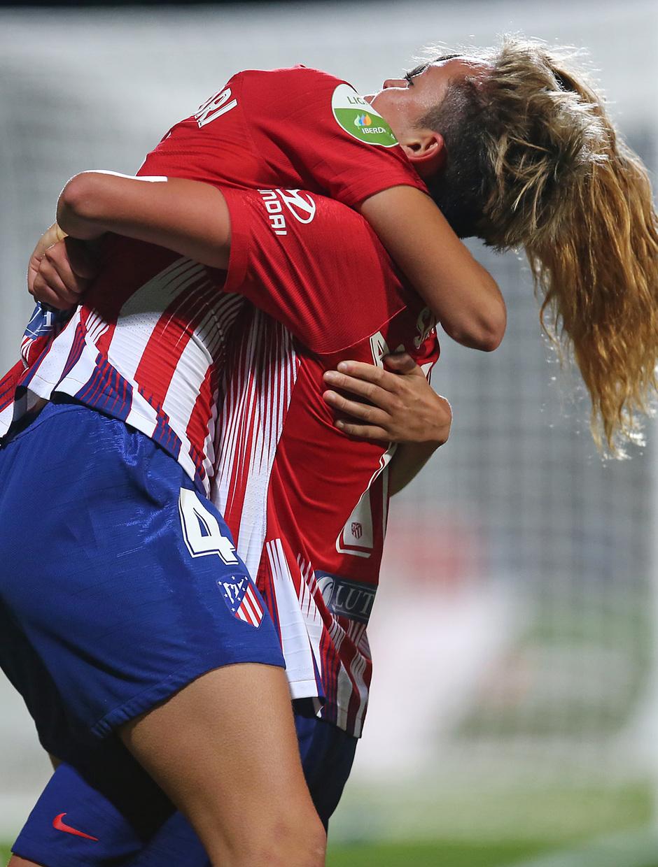 Temp. 18-19 | Atlético de Madrid Femenino-Levante UD. Laia y Amanda