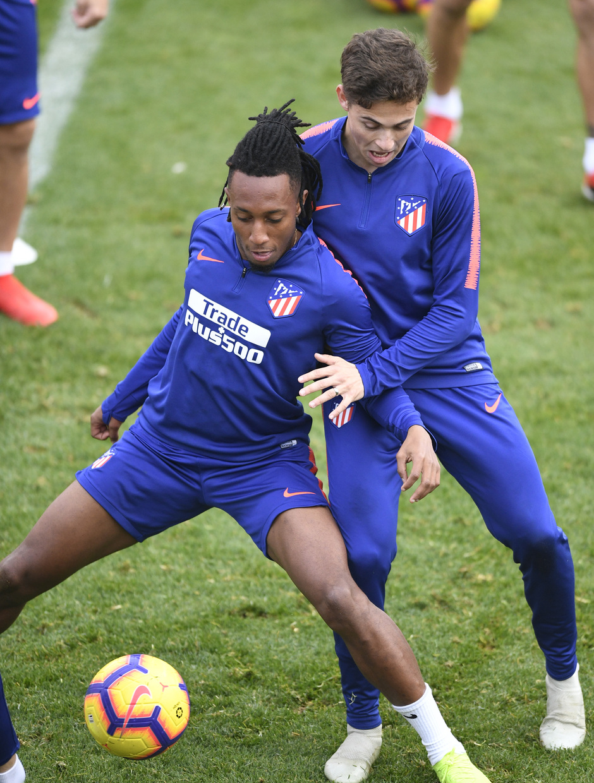Temporada 2018-2019 | Entrenamiento Ciudad Deportiva Wanda | Gelson