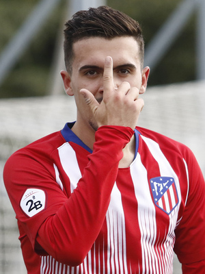 Temporada 18/19   Atlético de Madrid  B - Deportivo Fabril   Joaquín