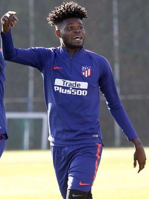 Temporada 18/19 | 06/12/2018 | Entrenamiento en la Ciudad Deportiva Wanda | Thomas