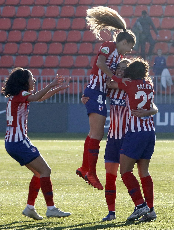 Temporada 18/19 | Atlético de Madrid Femenino - Espanyol | Celebración Piña