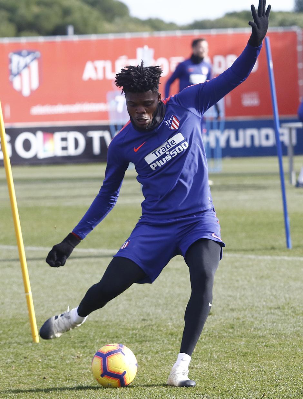 Temporada 2018-2019 | Entrenamiento Ciudad Deportiva Wanda | Thomas