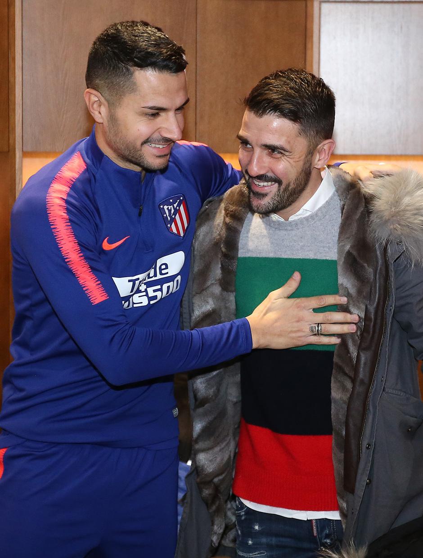 Temp. 18-19 | Visita Torres y Villa al Wanda Metropolitano | Vitolo