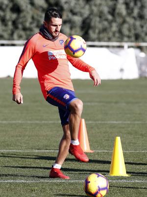 Temp. 18-19 | Entrenamiento Ciudad Deportiva Wanda | Koke