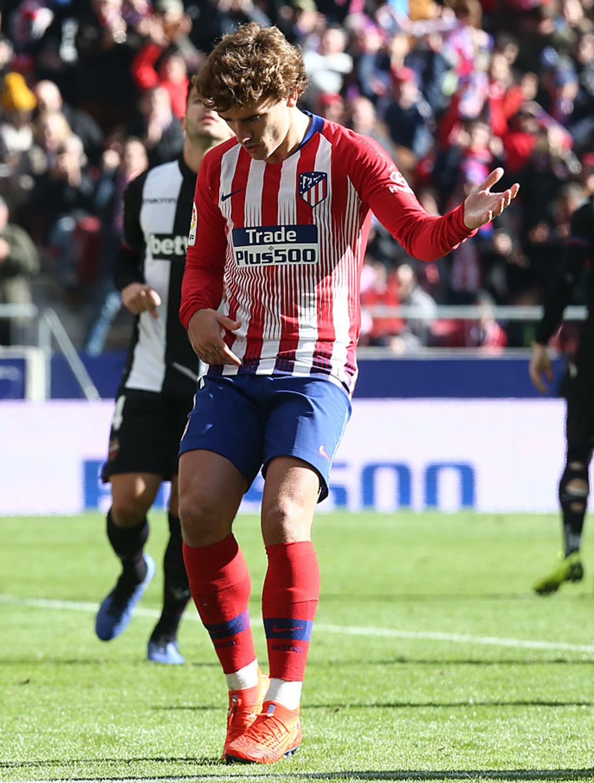 Temp. 18-19 | Atlético de Madrid - Levante | Griezmann celebración