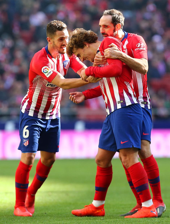 Temp. 18-19 | Atlético de Madrid - Levante | Griezmann, Koke y Juanfran