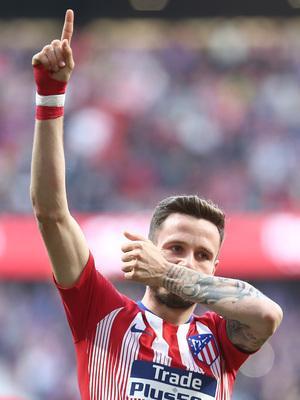 Temporada 18/19   Atlético de Madrid - Getafe   Saúl celebración