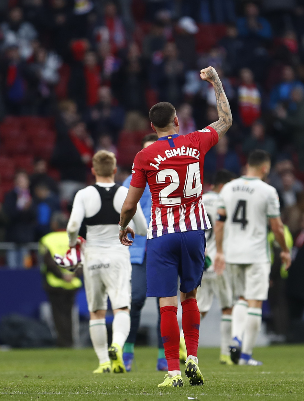 Temporada 18/19 | Atlético de Madrid - Getafe | Giménez