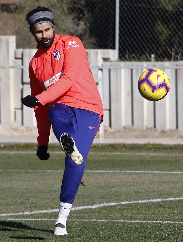 Temporada 18/19 | Entrenamiento del primer equipo | 12/02/2019 | Costa