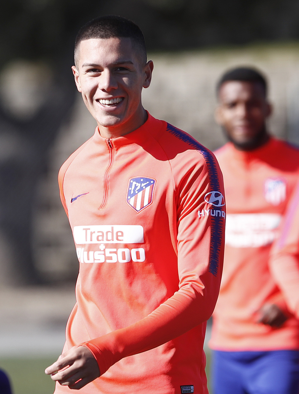 Temporada 18/19. Entrenamiento en la ciudad deportiva Wanda Atlético de Madrid. 017_02_2019. Nehuén Pérez.