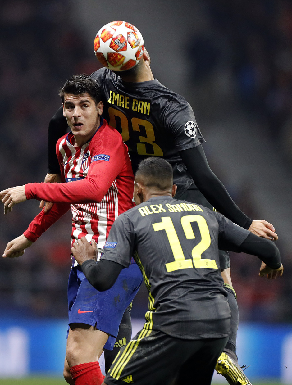 Temp. 18-19   Atlético de Madrid - Juventus   Morata