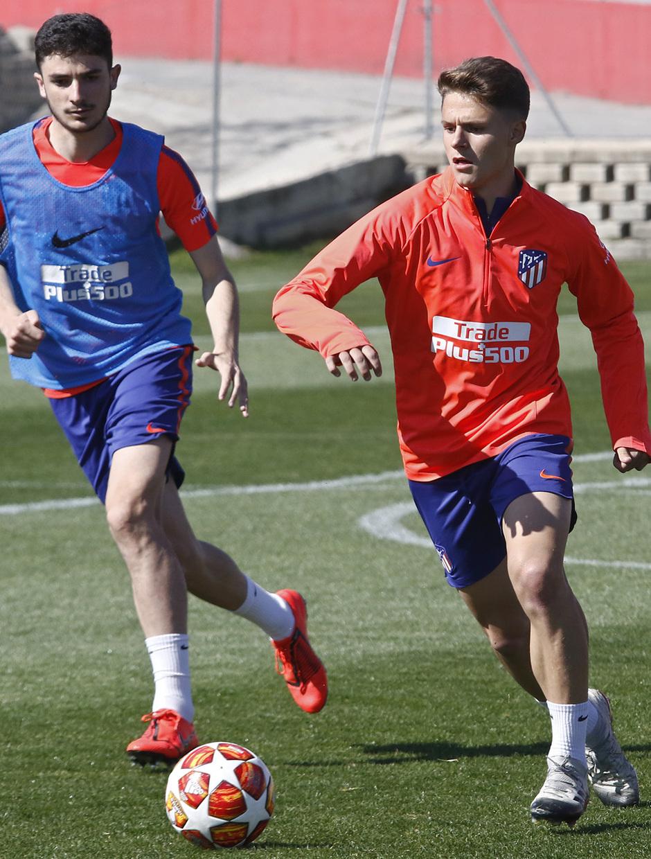Temporada 18/19 | Entrenamiento del primer equipo | 10/03/2019 | Óscar Pinchi
