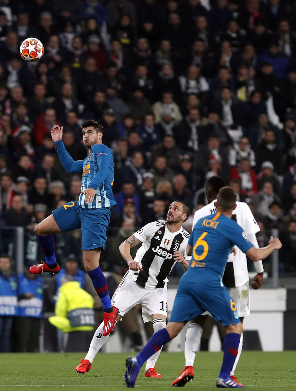 Temporada 18/19   Juventus - Atlético de Madrid   Morata