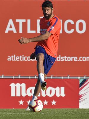 Temporada 18/19 | Entrenamiento del primer equipo | 25/03/2019 | Diego Costa