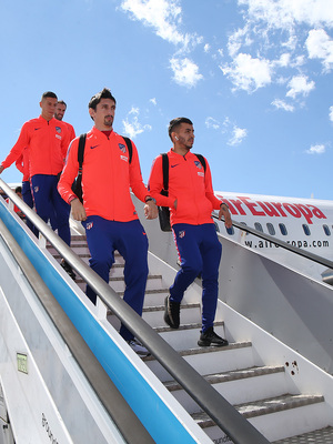 Temporada 18/19 | FC Barcelona - Atlético de Madrid | Llegada | Savic