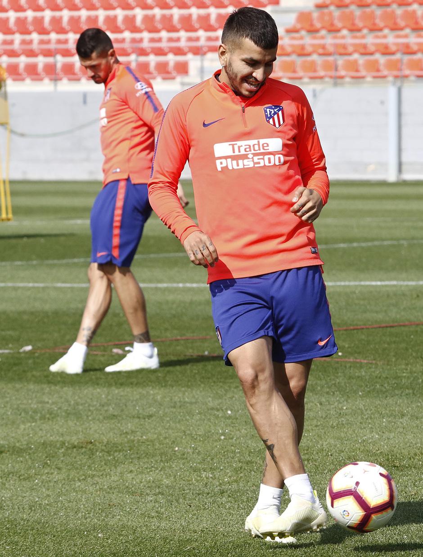 Temporada 18/19 | Entrenamiento del primer equipo | 17/04/2019 | Correa