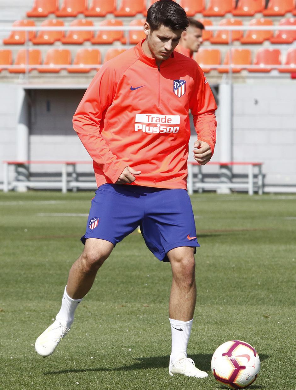 Temporada 18/19 | Entrenamiento del primer equipo | 17/04/2019 | Morata