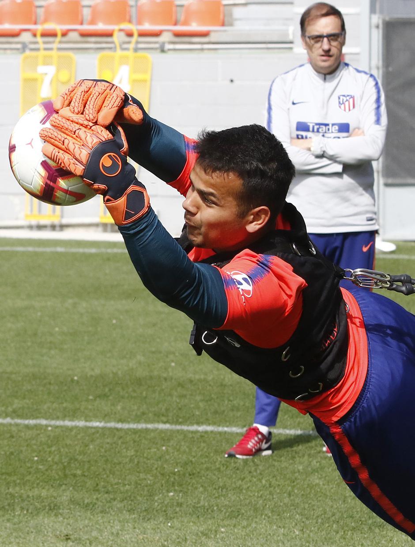 Temporada 18/19 | Entrenamiento del primer equipo | 17/04/2019 | Dos Santos