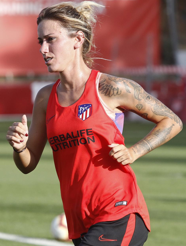 Temp. 19-20   Entrenamiento Atlético de Madrid Femenino   Sosa