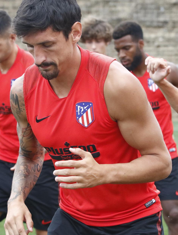 Temporada 19/20 | Entrenamiento del primer equipo | 07/08/2019 | Savic
