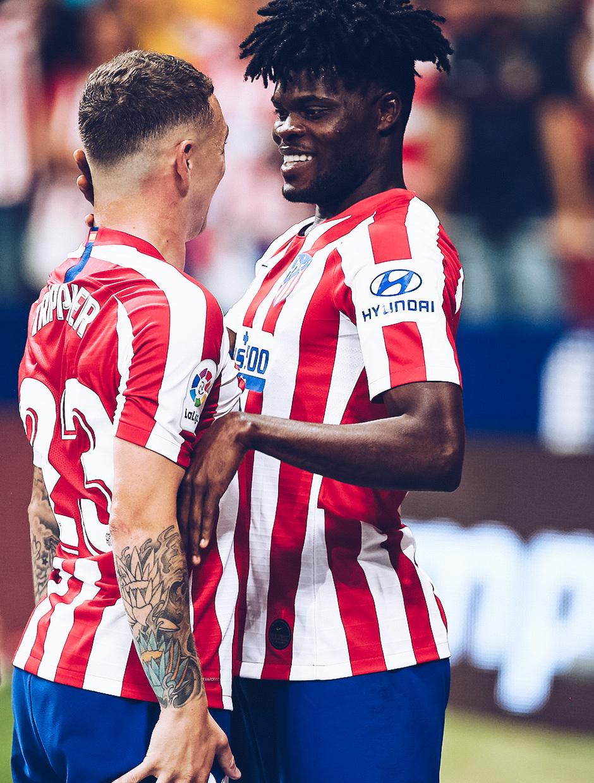 Temp. 19/20. La otra mirada. Atlético de Madrid-Eibar. Trippier y Thomas