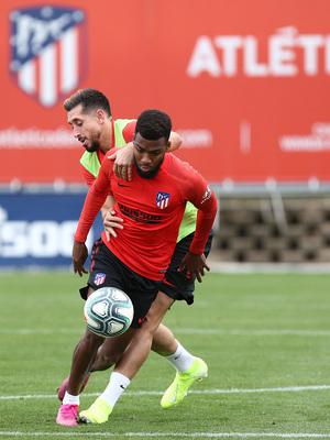 Temp.2019-2020. Entrenamiento del primer equipo. Ciudad Deportiva Wanda. 13/09/2019. Lemar