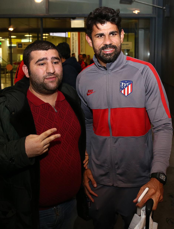 Temporada 19/20 | Lokomotiv - Atlético de Madrid | Llegada | Diego Costa