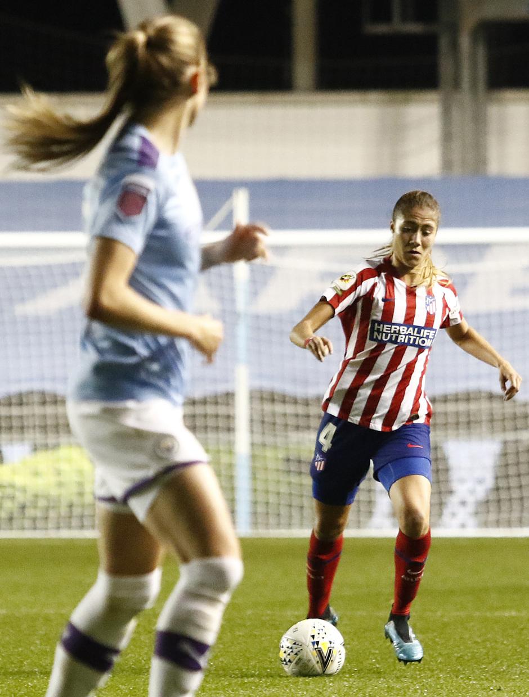 Temporada 19/20 | Manchester City - Atlético de Madrid Femenino | Laia Aleixandri