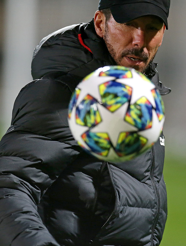 Temp. 19-20 | Entrenamiento en Leverkusen | Simeone