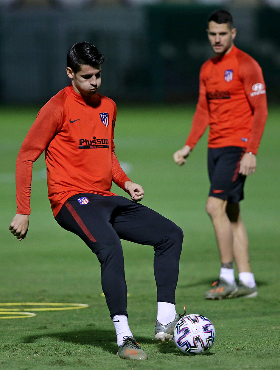 Temp. 19-20 | Supercopa de España | Training Centre Al Ahli | Morata