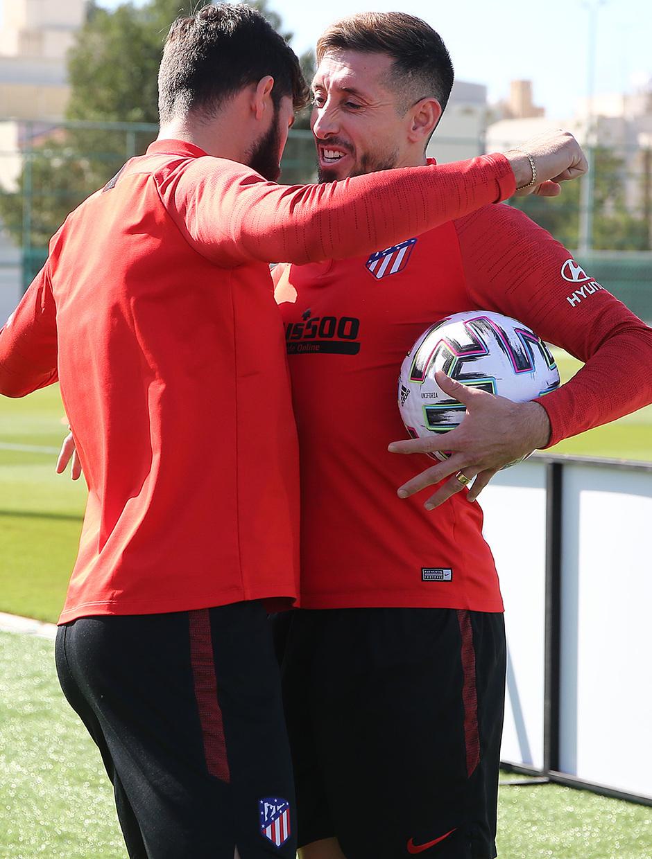 Temporada 19/20   Entrenamiento 10/01/20   Felipe y Herrera