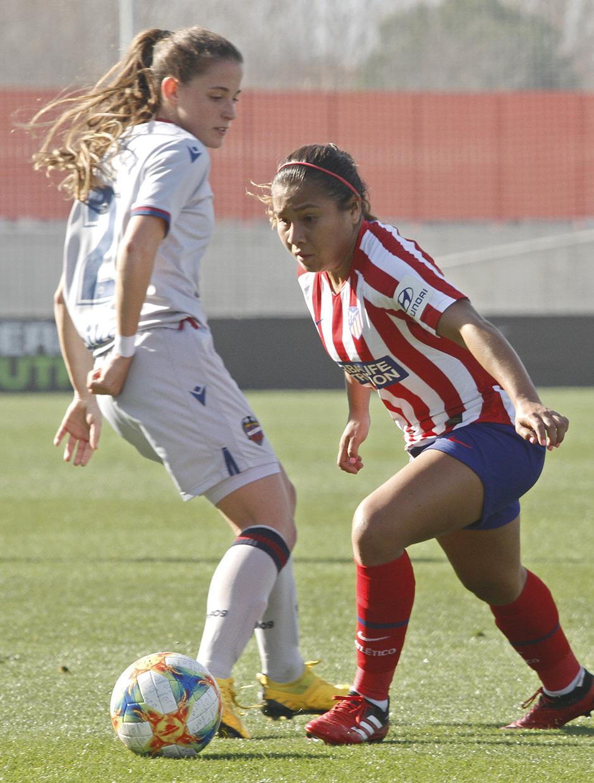 Temp. 19-20   Atlético de Madrid Femenino-Levante   Leicy Santos