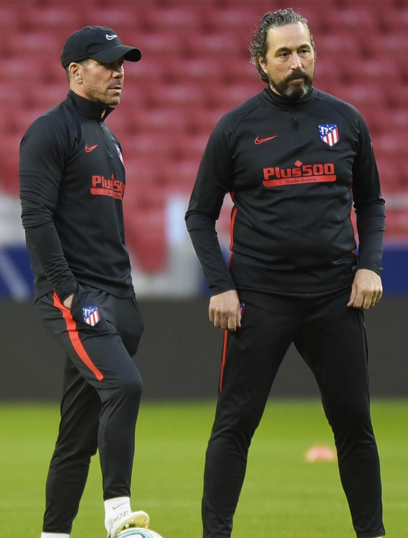 Temporada 19/20. Entrenamiento primer equipo en Wanda Metropolitano. Simeone