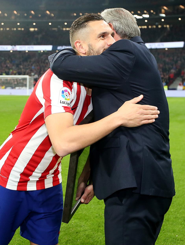 Temporada 2019/20 | Atlético de Madrid - Villarreal | Koke y Ayala