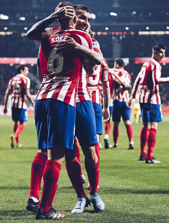 Temporada 2019/20 | Atlético de Madrid - Villarreal | Otra mirada | Koke celebración