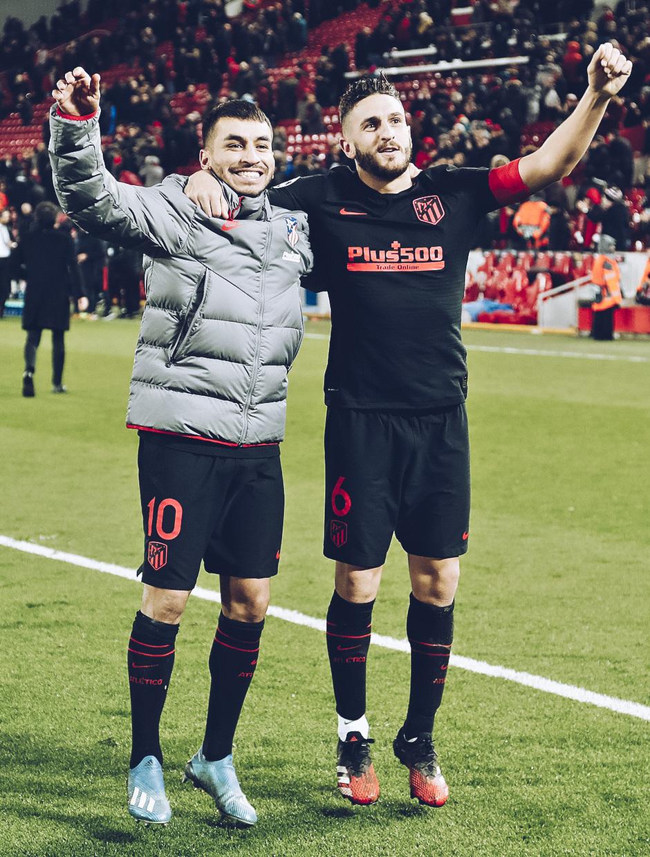 Temporada 19/20   Liverpool - Atlético de Madrid   La otra mirada   Koke y Correa