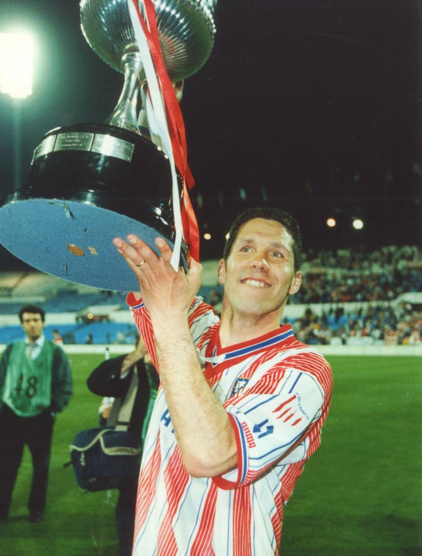 Final Copa del Rey 1996   Atlético de Madrid - FC Barcelona   Simeone