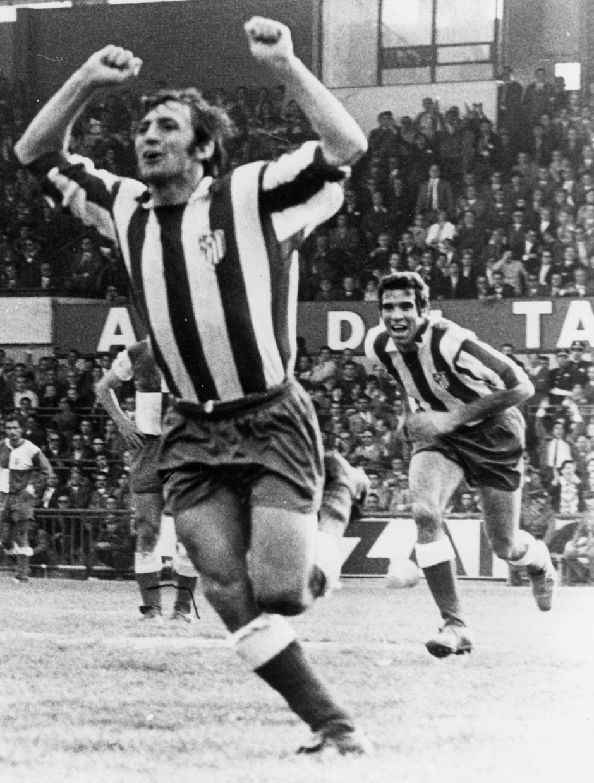 Temp. 1969-70 | Campeones de Liga  en Sabadell | Celebración Ufarte