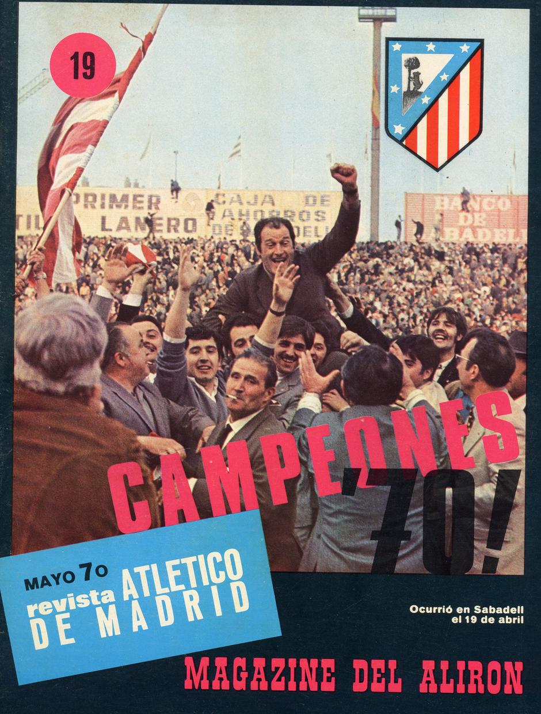 Temp. 1969-70 | Campeones de Liga  en Sabadell | Revista del club