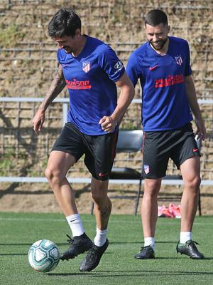 Temporada 19/20 | Entrenamiento primer equipo | Savic y Felipe