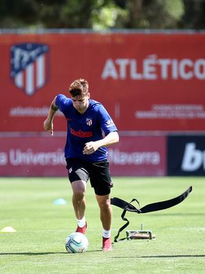 Temporada 19/20 | Entrenamiento primer equipo | Morata
