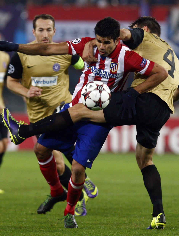 Diego peleando