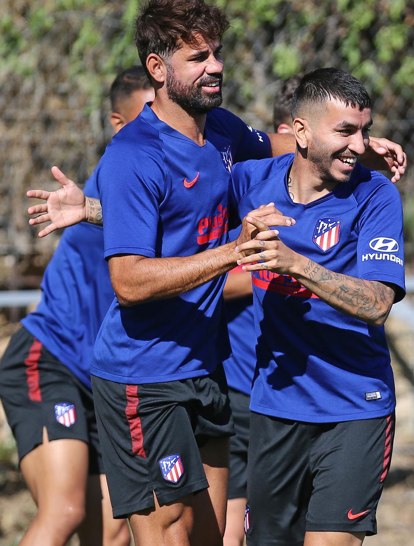 Temporada 19/20   Entrenamiento   Costa y Correa