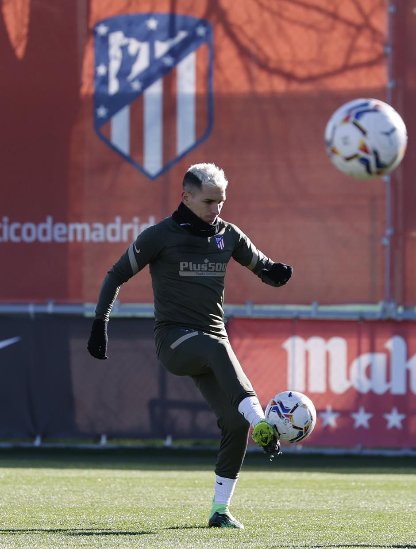 Temp. 20-21   Entrenamiento Atlético de Madrid   Torreira