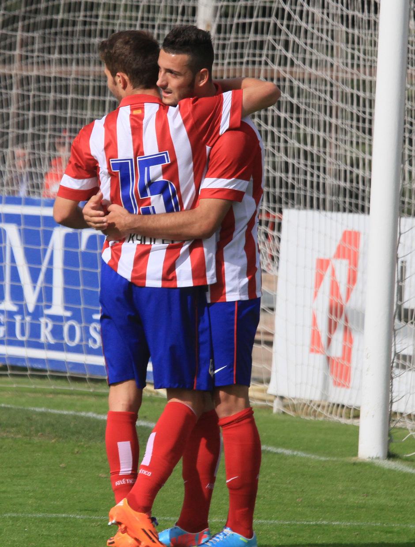 Rubén Mesa contra el Peña Sport