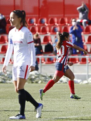 Temp 2020/21   Atleti Femenino-Sevilla   Leicy gol