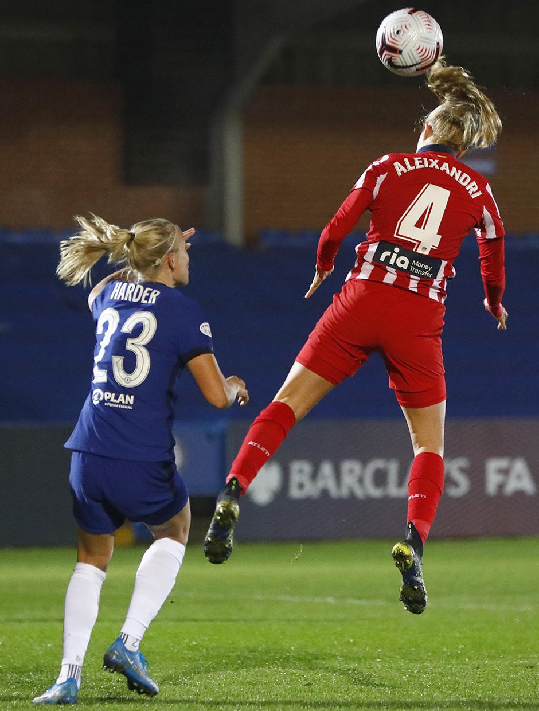 Temp. 20-21   UWCL   Chelsea-Atleti Femenino   Laia
