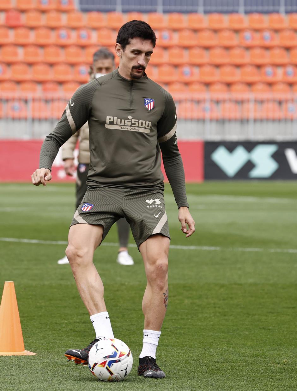 Temp. 20-21 | Entrenamiento Atlético de Madrid | Savic
