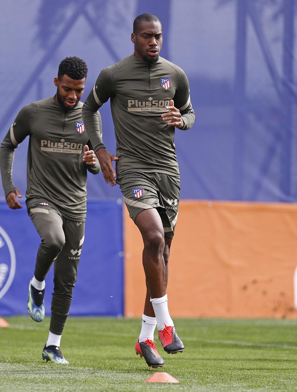 Temp. 20-21 | Entrenamiento Atlético de Madrid | Kondogbia y Lemar