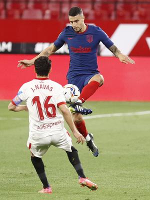 Temp. 20-21   Atleti - Sevilla   Hermoso